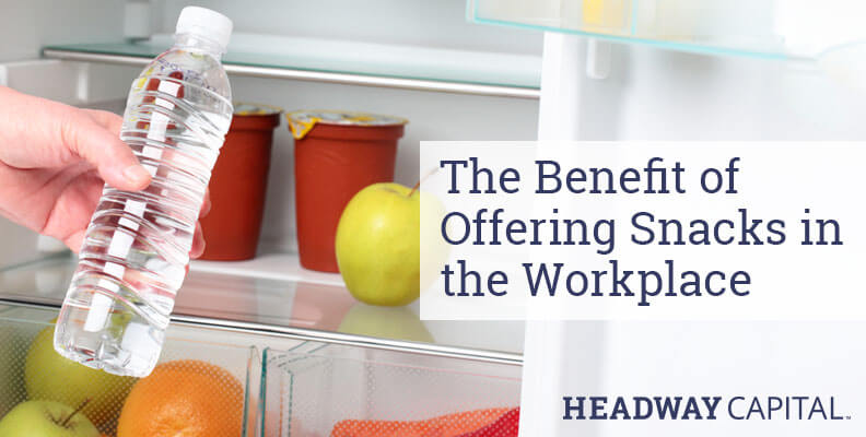 Should You Provide Snacks For Employees?