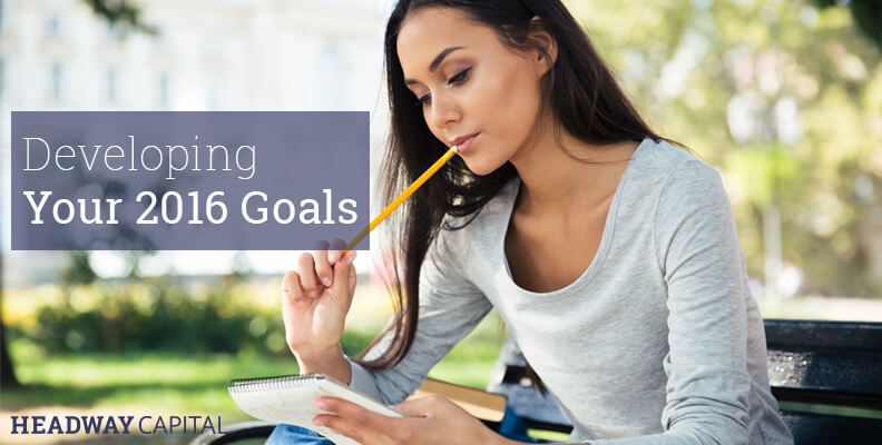 How to Develop Business Goals for 2016