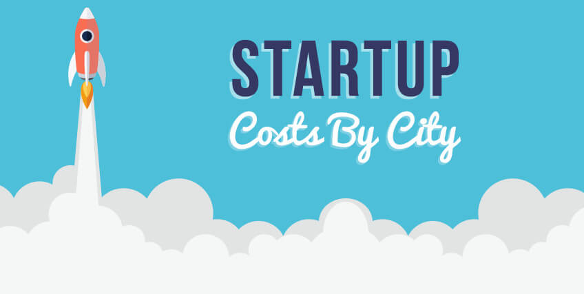startup costs by city