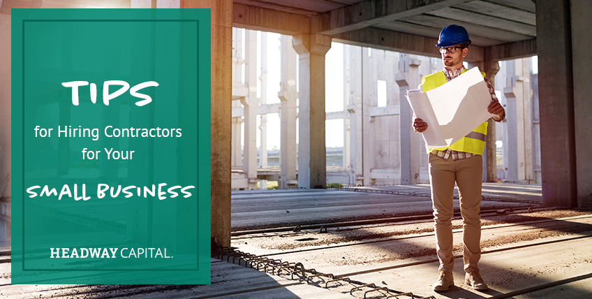 How To Hire Contractors for Your Small Business