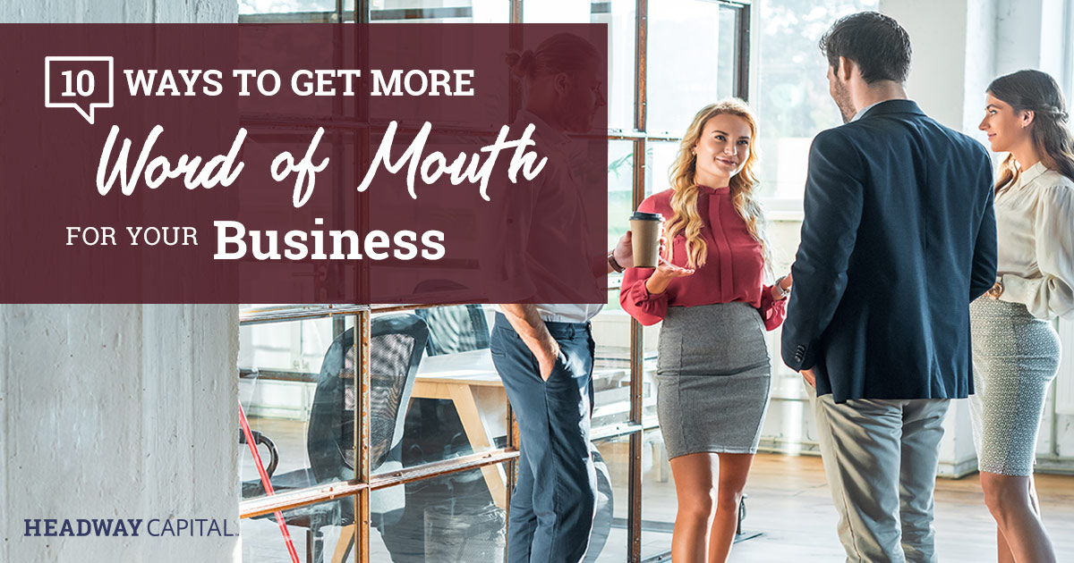 Word of Mouth Techniques for Small Businesses