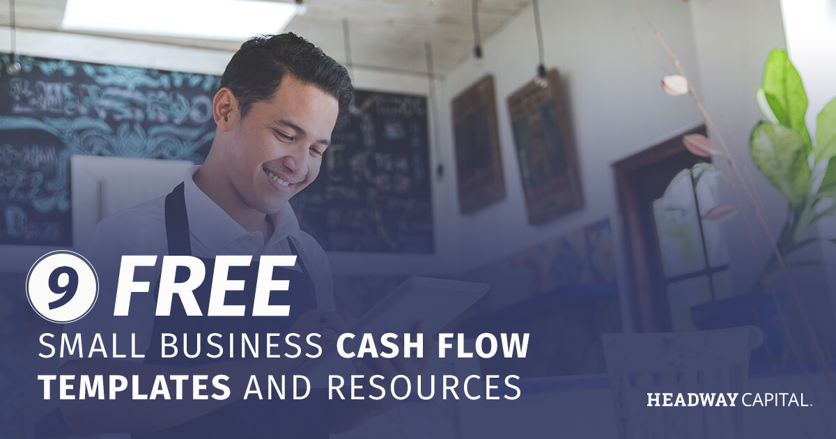 Small Business Cash Flow Statement Templates