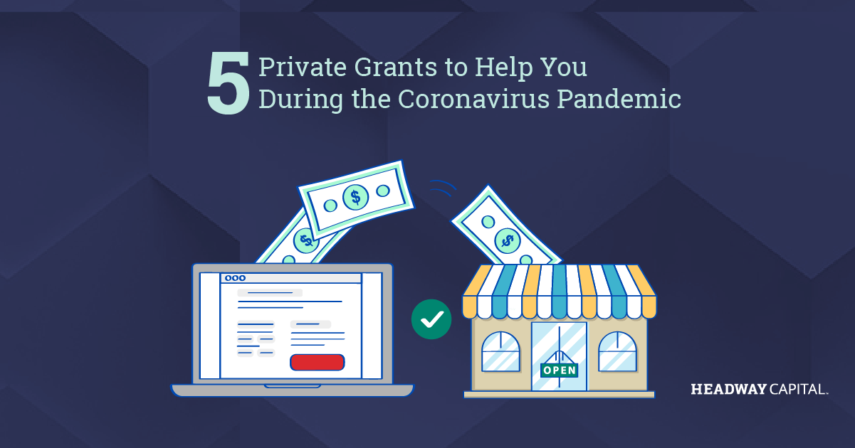 Private Grants for Small Businesses Affected by COVID-19