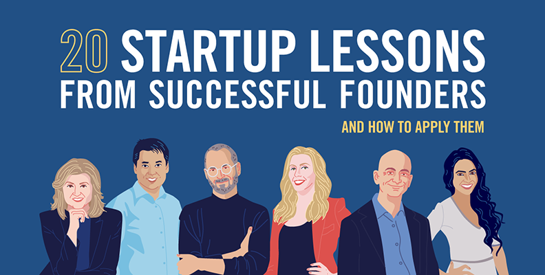 20 Start-up Lessons from Successful Founders (and How to Apply Them)